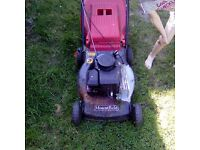Petrol lawn mower good running order bargain at £95