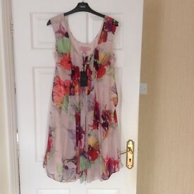 Ted Baker Treasured Orchid dress pale pink BNWT (GBP 139.00)