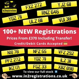 NEW! Short NI Number Plates from £370 - Cherished Personal Private Registration plates