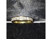 Diamond Eternity or Wedding Ring