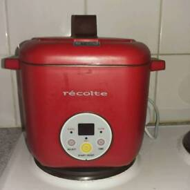 Recolte Healthy CotoCoto 2-Stage Simultaneous Electric Rice Cooker