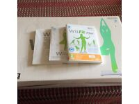 Wii Fit Plus Game and balance board