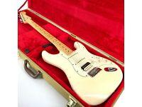 2015 Fender USA Pro FSR Stratocaster HSS – Olympic White - Trades
