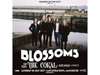 Blossoms - Sounds Of The City @ Castlefield Bowl, Manchester. Saturday, 08 Jul 2017