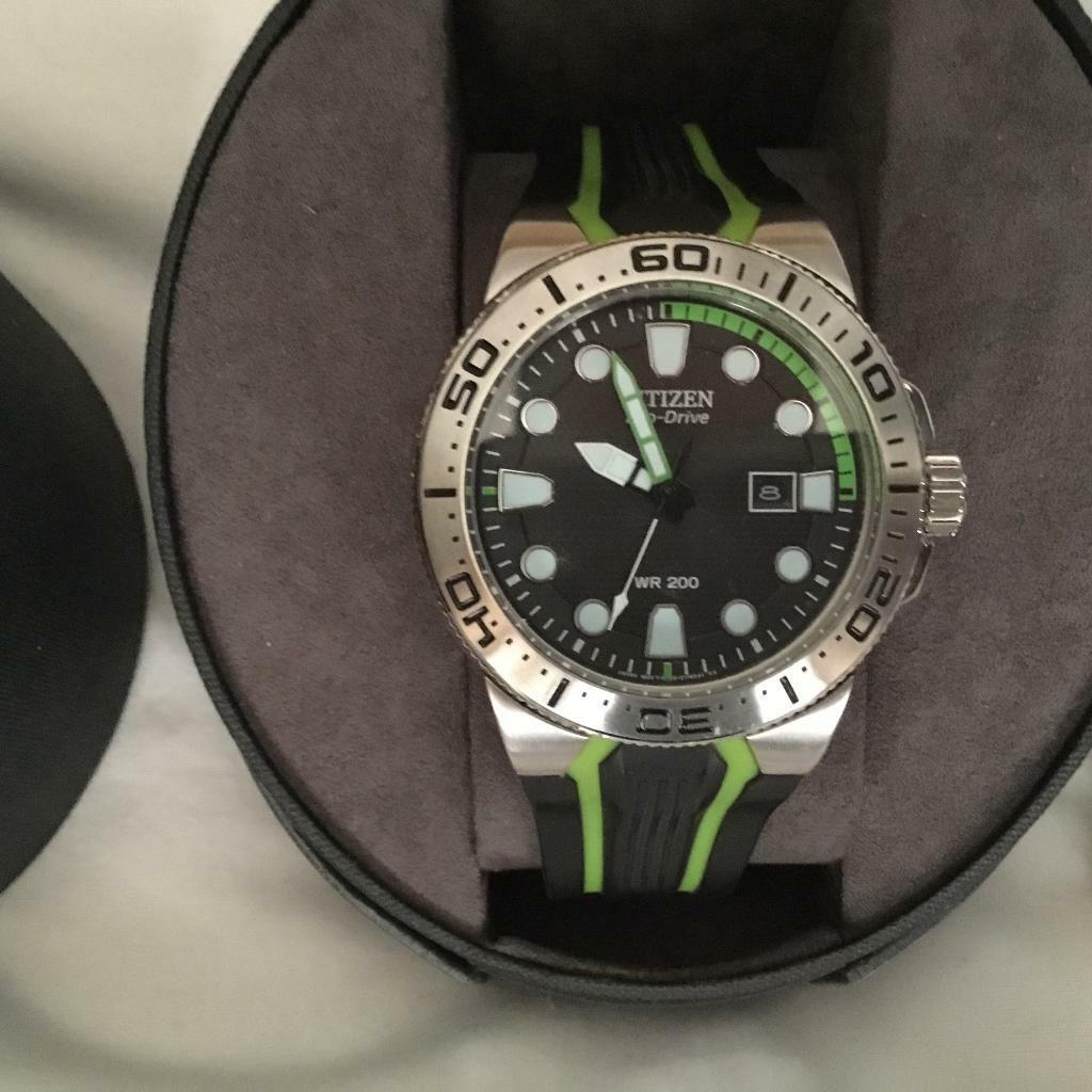 info for 7ea43 8a023 Citizen eco drive watch sub aqua watch NOW SOLD | in Portsmouth, Hampshire  | Gumtree