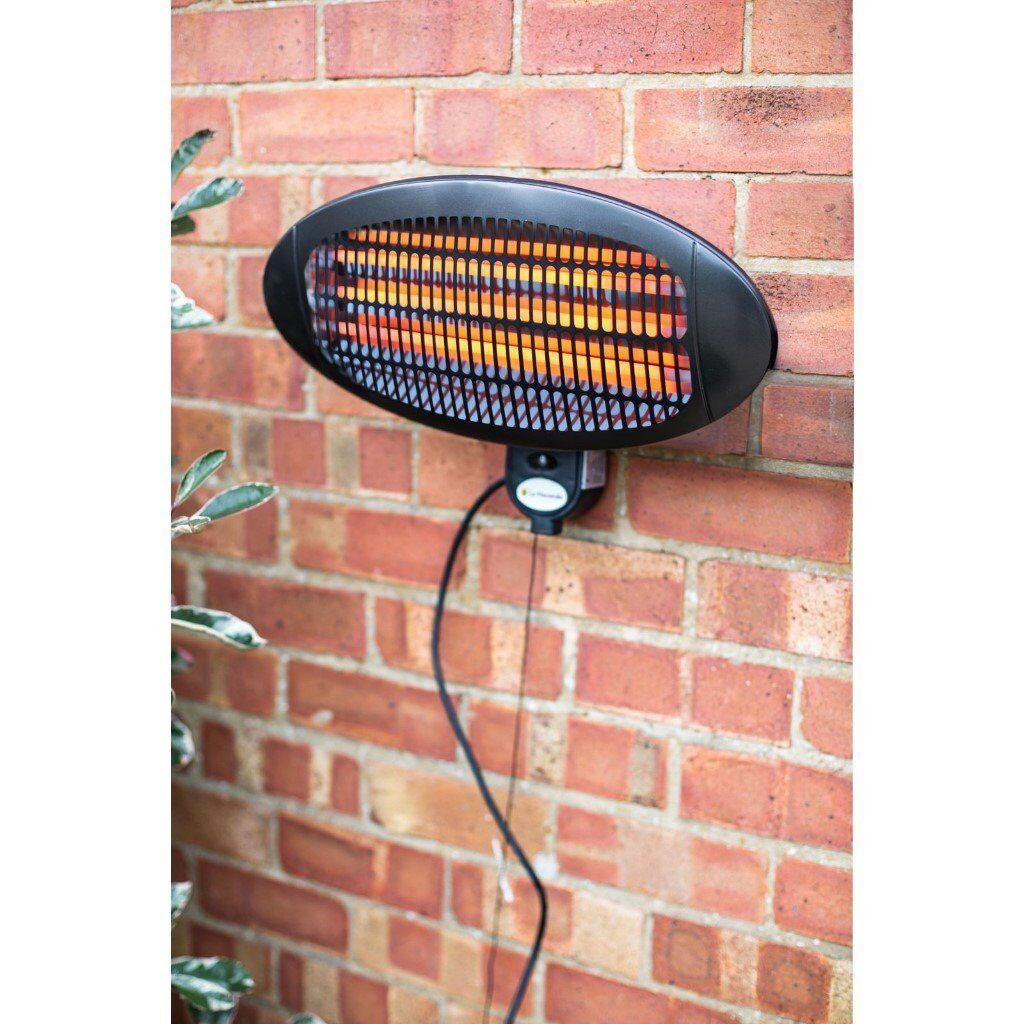 JOB LOT - 4 x La Hacienda Wall Mounted 2000W Outdoor Patio Heater