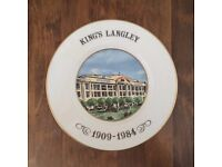 Local Limited Edition Commemorative Coalport Plate - Ovaltine Factory / Wander Kings Langley
