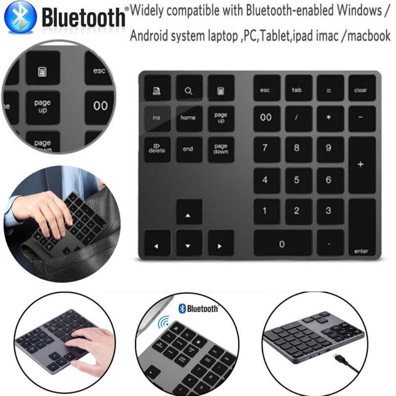 wireless bluetooth 34 keys numeric keypad number