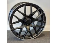 "19"" Staggered C63S Style alloy wheels and tyres (5x112) Suits most C & E Class Mercedes models"