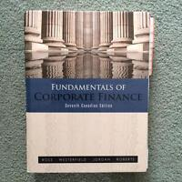 Fundamentals of Corporate Finance text