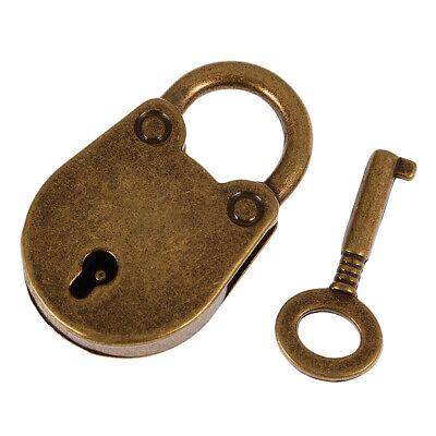 Vintage Pig Lock Padlock For Locker School Travel Suitcase Traveling Bronze