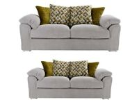 Beige Buoyant clifton 3+2 seater sofas**Free delivery**