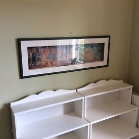 Italian Town of Siena Quality Framed Print Poster from Local Museum