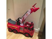 Kids fire engine truck