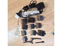 Hair clipper set