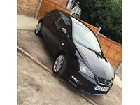 SEAT IBIZA--FR EDITION--LOW MILEAGE--3 DOOR--2013--FULL SERVICE HISTORY--BLACK