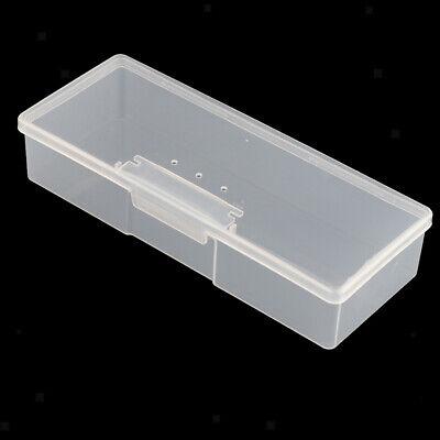 Durchsichtigen Kunststoff Aufbewahrungsbox mit Deckel Sammelbehälter