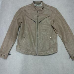 Mens Energie leather jacket size M - Miss Sixty