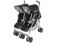 Maclaren Twin Techno double buggy - brand new