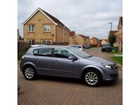 VAUXHALL ASTRA DESIGN 1.6, BLACK LEATHER, MOT 12 MONTHS, PARKING SENSORS