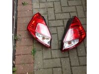Ford Fiesta mk9 rear lights (pair)
