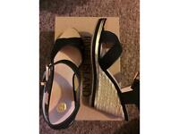 River island wedges size 5