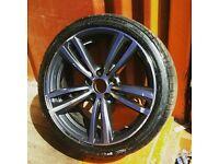 BMW 3 Series, 4 Series Alloy Wheel & Bridgestone Tyre 225/40/19 89Y