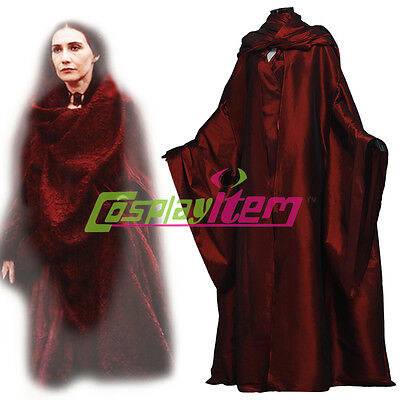 Game of Thrones The Red Woman Melisandre Dress Costume Halloween Costume - Game Of Thrones Melisandre Costume