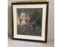 Print and Frame. Full Summer, Victorian Farm Scene
