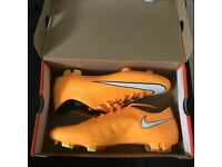Nike mercurial football boots size 10
