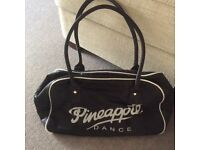 Pineapple Black Sports bag