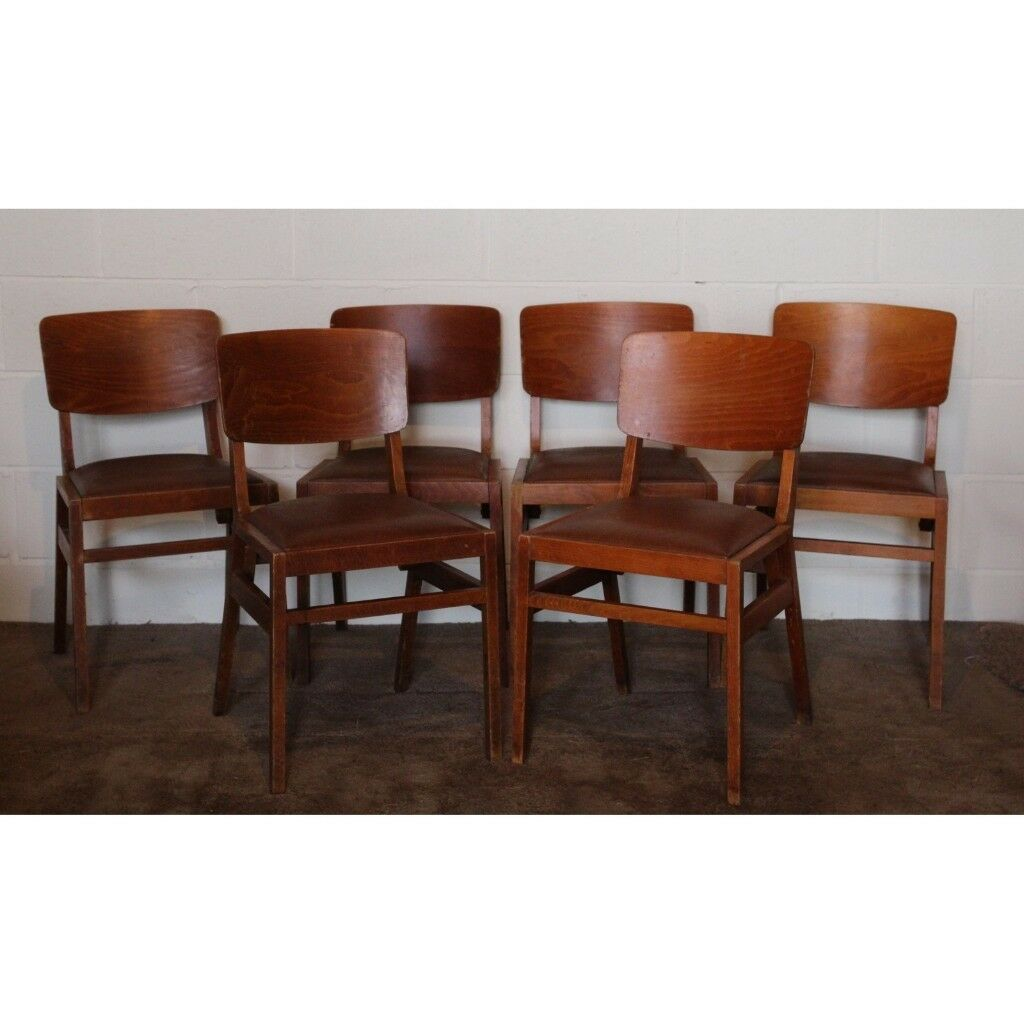 Awe Inspiring Set Of Six Ben Stoe Benchair Vintage Retro Teak Vinyl Dining Chairs Stacking Uk Delivery Available In Thurcroft South Yorkshire Gumtree Machost Co Dining Chair Design Ideas Machostcouk