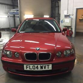 BMW 320 Td compact speed manual
