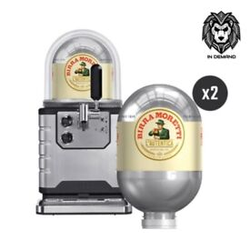 Beerwulf BLADE Beer Machine - Birra Moretti 2 x 8L Keg Starter Pack ⭐️ New & Free Delivery ⭐️