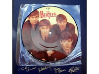 TheBeatles Love Me Do Original 1980s Picture Disc. Never Been Played.