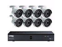 Lorex LHA42162TC8P 4MP 16 Channel Home Security System 8 Camera CCTV Kit 2TB Box