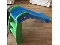 Little Tikes First Slide. Very good condition. Easily stored.