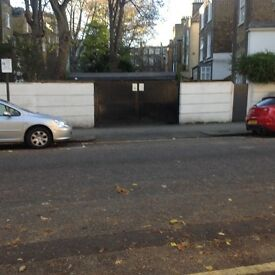 Secure Parking Space (outside garage) to let Earl's Court London SW5