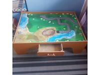 Play table with drawer.