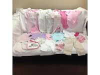 Baby Girl Clothes – 0-3 months – Bundle 4 - Good condition