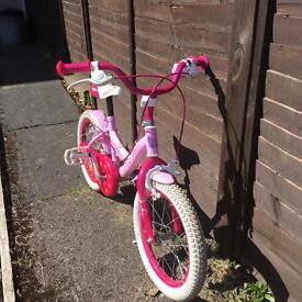 "Girls bike 16"" age 5-7"