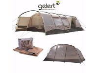 REDUCED Gelert Morpheus 8 man tent with awning extension and lots of extras. offers considered.