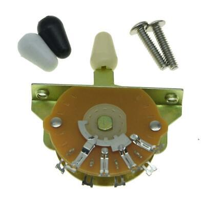*NEW 5 Way Position Selector SWITCH for Fender Stratocaster Strat CRL (5 Way Selector Switch)