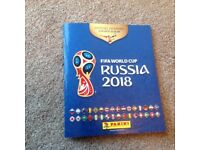 Panini 2018 World Cup stickers (swap only)