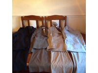 Ladies trousers suits 5 lots and jacket all size 10 all named next selling altogether cheap