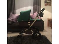 Bugaboo bundle immaculate condition £200