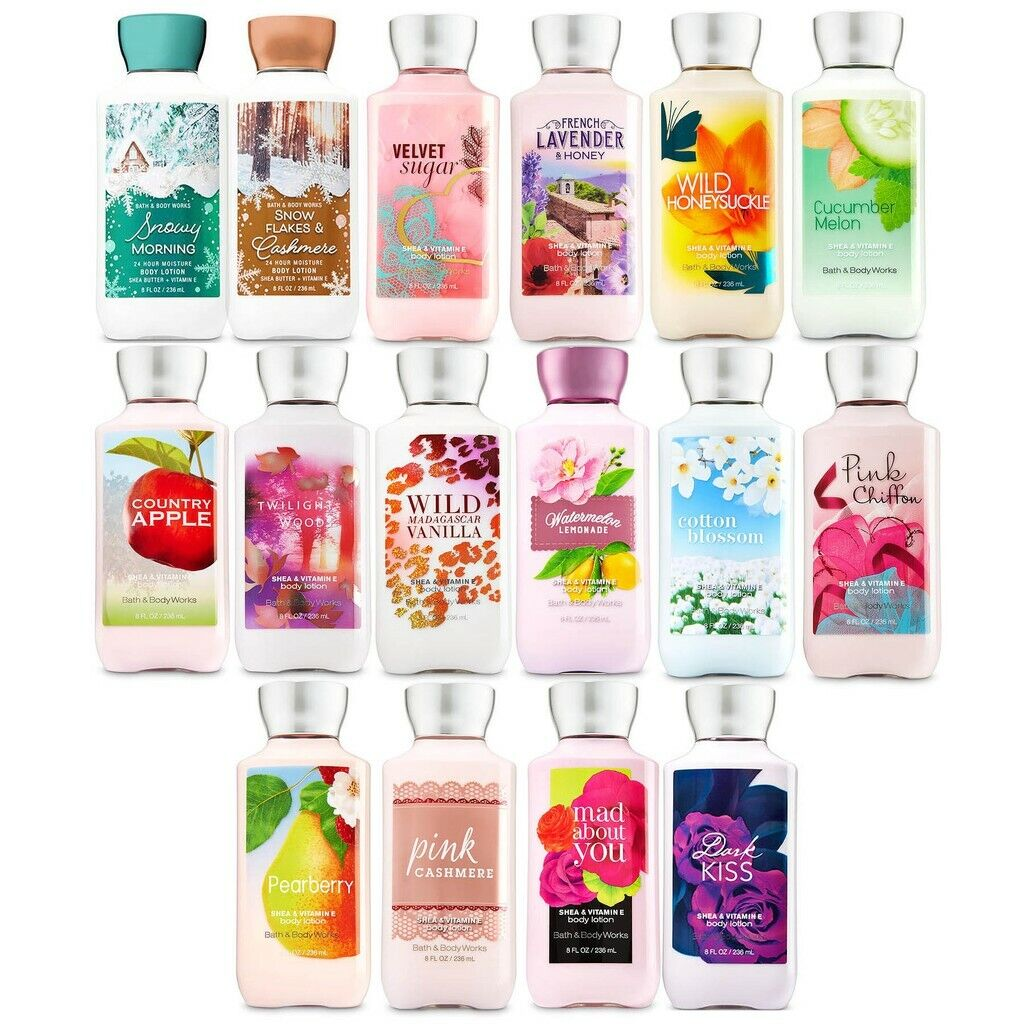 Bath Body Works Body Lotion or Body Butter You Choose! Ships