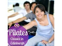 Improvers Pilates Classes starting Wed 7th Feb Edinburgh West End