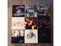 Job Lot of 63 Classic Rock Records on Vinyl (All Pictured)