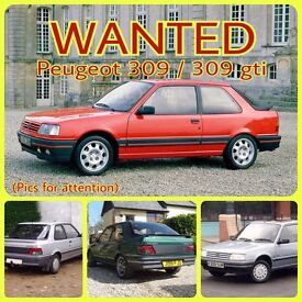 **WANTED** Peugeot 309 / 309gti